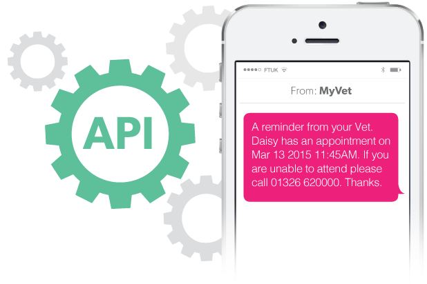 API to Phone SMS